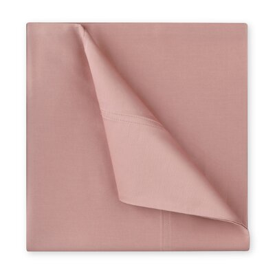 Williamsburg 400 Thread Count Cotton Sateen Sheet Set Size: Twin, Color: Blush