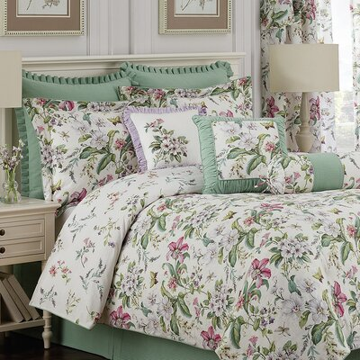 Williamsburg 4 Piece Comforter Set Size: Full/Double