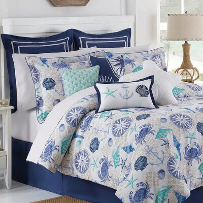 Williamsburg Barnegat 4 Piece Comforter Set Size: Full/Double