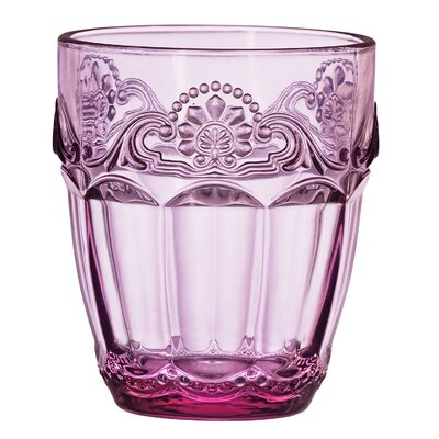 Double Old Fashioned Glass Color: Lilac 7CC350S4R