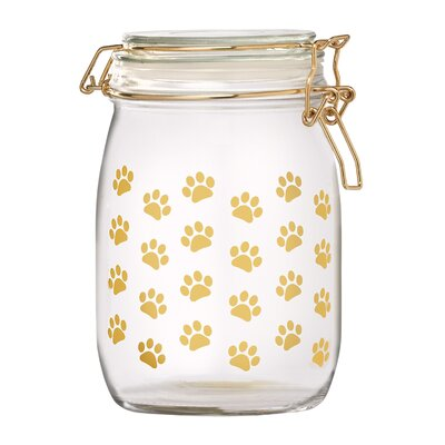 Royale Dog Glass 0.81 qt.Pet Treat Jar