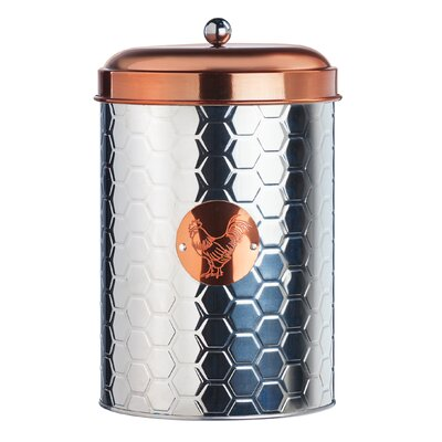 Sunshine Farm Metal Kitchen Canister Set Size: Large