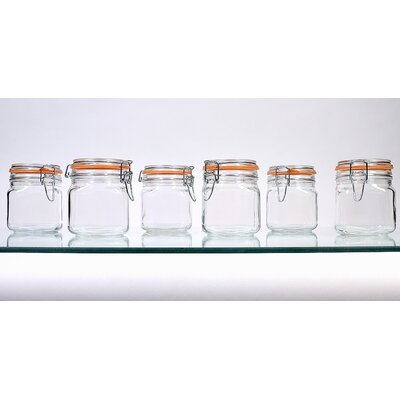Hermetic Storage Jars Size: 24 oz.