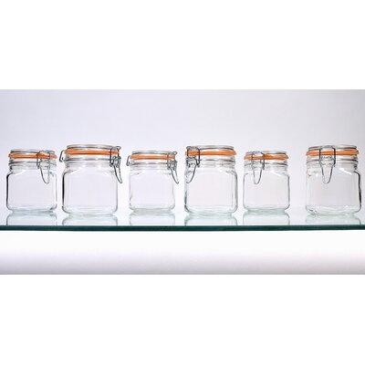 Hermetic Storage Jars Size: 24 oz.