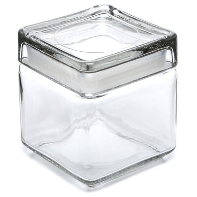 Anchor Hocking Stackable Square Jar (Set of 4) 85587R