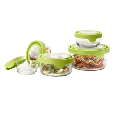 Anchor Hocking True Seal 5 Container Food Storage Set 92093