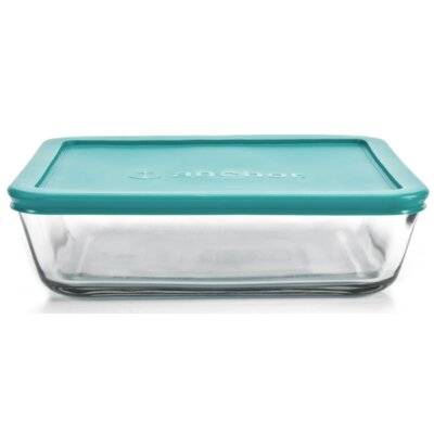 Anchor Hocking 48 Oz. Rectangular Kitchen Storage Container (Set of 4) 91670L11