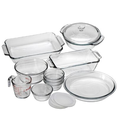 Anchor Hocking 15 Piece Bakeware Set 82210OBL11