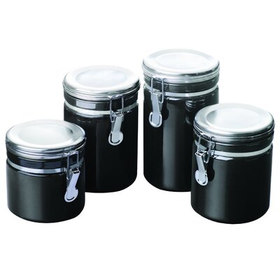 Anchor Hocking 4 Piece Canister Set 03923MR