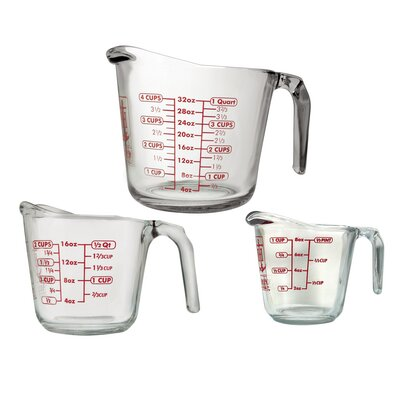 3 Piece Open Handle Measuring Cup Set 92032L11