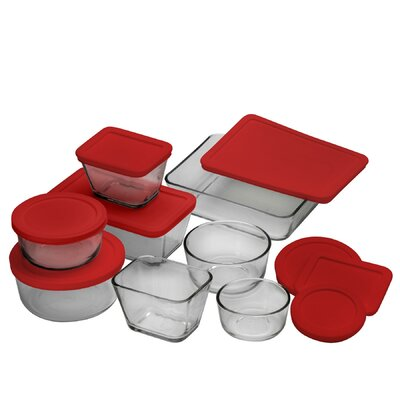 Anchor Hocking 92092l11 16 PC Kitchen Storage Set 92092L11