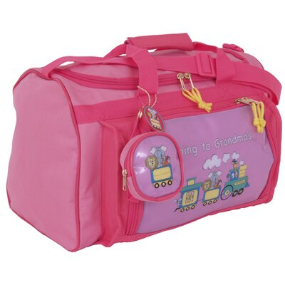 Mercury Luggage Going to Grandma's Children's Club Bag - Color: Pink/dark pink trim at Sears.com