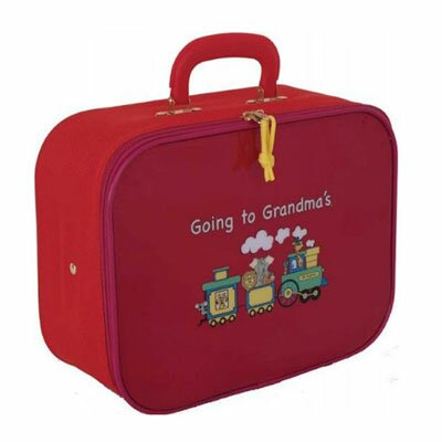"Mercury Luggage Going to Grandma""s Children""s 9.5"" Suitcase - Color: Red w/ Pink at Sears.com"