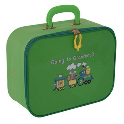 "Mercury Luggage Going to Grandma""s Children""s 9.5"" Suitcase - Color: Lime Green at Sears.com"