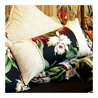 Orchids Cotton Lumbar Pillow