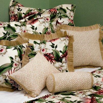 Orchids Duvet Cover Size: King