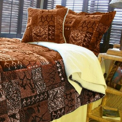 Tiki Hawaiian Duvet Cover Collection