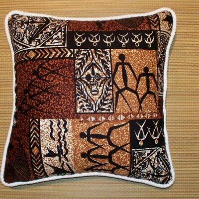Tiki by Hanalei Home Coco Cotton Throw Pillow