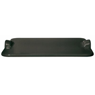 Large Grilling/Baking Stone Tray Color: Charcoal