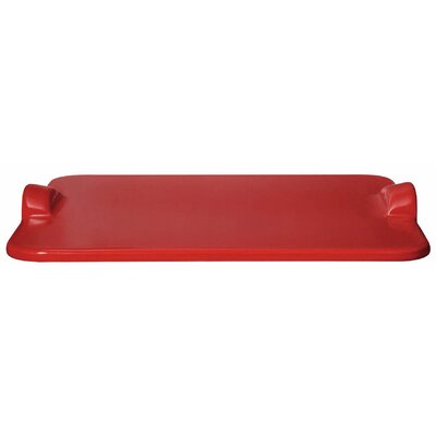 Large Grilling/Baking Stone Tray Color: Burgundy