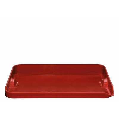 Plancha Tray Color: Burgundy