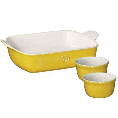 Classic 3 Piece Rectangular Baker Set