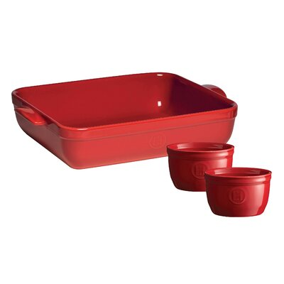 3 Piece Roasting/Lasagna Dish and Ramekin