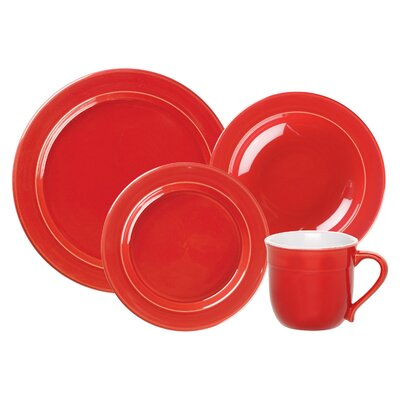 Cerise Collection-1 Qt. Pasta Bowl In Cerise Red