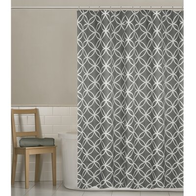 Mcnett Shower Curtain Color: Gray