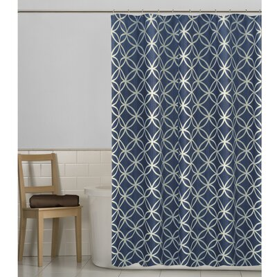 Mcnett Shower Curtain Color: Blue