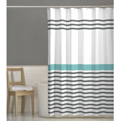 Simple Stripe Shower Curtain