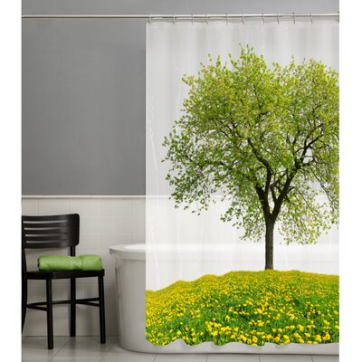 Seasons PEVA Shower Curtain