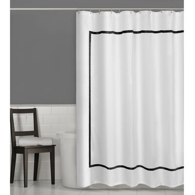 Hotel Border Shower Curtain