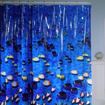Buy Low Price Maytex Photoreal Fish Vinyl Shower Curtain Shower Curtain Mall