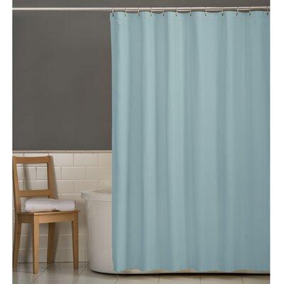Maytex Microfiber Fabric Shower Curtain - Color: Blue