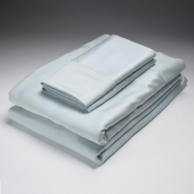250 Thread Count Flat Sheet Size: Queen, Color: Sky