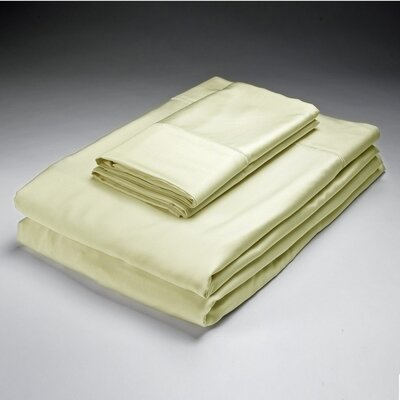 Bamboo Pillowcase Size: King Color: Ivory image