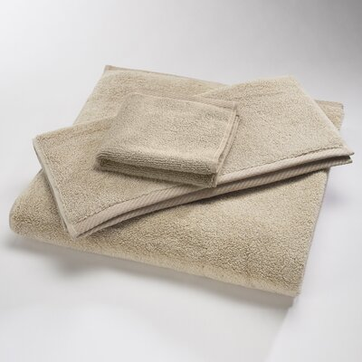 Reversible Cotton Bath Rug Size: Large, Color: Oat