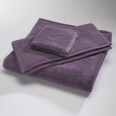 Reversible Cotton Bath Rug Size: Small, Color: Eggplant