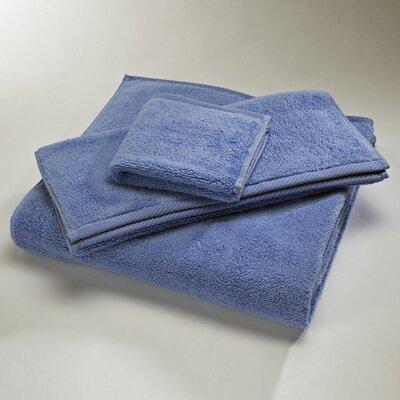 Reversible Cotton Bath Rug Size: Large, Color: Periwinkle
