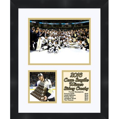 Pittsburgh Penguins 2016 Stanley Cup Sidney Crosby Collage Framed Photographic Print TP04-10-00-CSSC