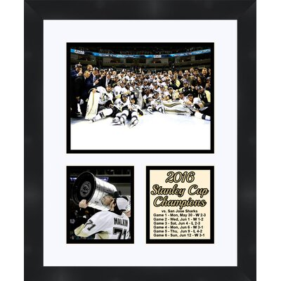 Pittsburgh Penguins Evgeni Malkin Holding The 2016 Stanley Cup Collage Photographic Print TP04-10-00-SCEMa