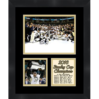 Phil Kessel Champion Pittsburgh Penguins 2016 Stanley Cup Winner Collage Picture Frame TP04-11-00-SCPK