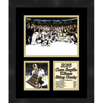 Pittsburgh Penguins Sidney Crosby 2016 Conn Smythe Winner Collage Framed Photographic Print TP04-11-00-CSSC