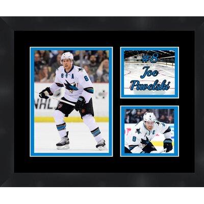 San Jose Sharks Joe Pavelski 8 Photo Collage Framed Photographic Print TP03-11-00-HKY8JP2
