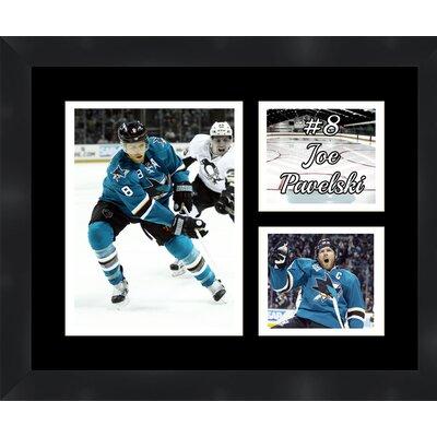 San Jose Sharks Joe Pavelski 8 Photo Collage Framed Photographic Print TP03-11-00-HKY8JP4
