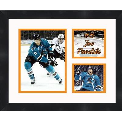 San Jose Sharks Joe Pavelski 8 Photo Collage Framed Photographic Print TP03-10-00-HKY8JP6