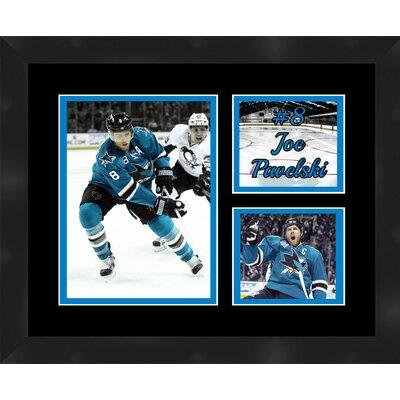 San Jose Sharks Joe Pavelski 8 Photo Collage Framed Photographic Print TP03-11-00-HKY8JP5
