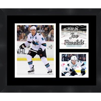 San Jose Sharks Joe Pavelski 8 Photo Collage Framed Photographic Print TP03-11-00-HKY8JP