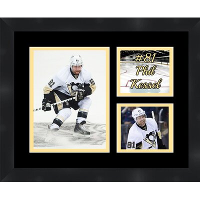 Pittsburgh Penguins Phil Kessel 81 Photo Collage Framed Photographic Print TP03-11-00-HKY81PK2